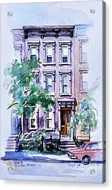 House On Tenth Street Acrylic Print