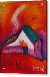 House On The Hillside Acrylic Print