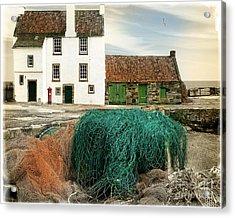House On The Quay Acrylic Print by Edmund Nagele