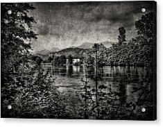 House On The River Acrylic Print