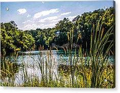 House Over The Quarry  Acrylic Print by Ray Congrove