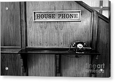 House Phone Acrylic Print