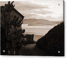 House With A View Acrylic Print by Waldemar  Van Wyk