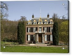 House Zypendaal In Arnhem Netherlands Acrylic Print by Ronald Jansen