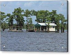 Houseboat - Atchafalaya Basin Photograph by Susie Hoffpauir