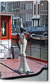 Acrylic Print featuring the photograph Houseboat Chanteuse by Allen Beatty