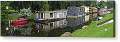 Houseboats In Canal Acrylic Print