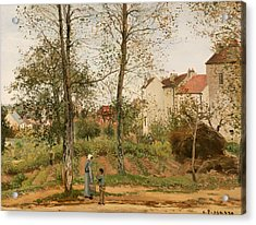 Houses At Bougival Acrylic Print