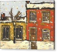 Houses In Sydenham Ward Acrylic Print