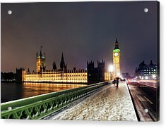Houses Of Parliament And Big Ben Acrylic Print by Daniel Sambraus