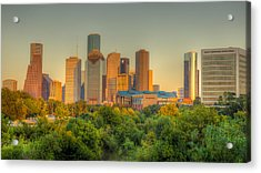 Houston Skyline Acrylic Print