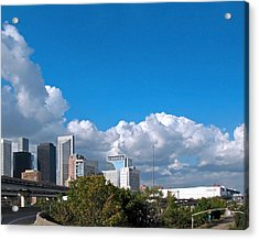 Houston Skyline Southeast Acrylic Print