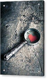 How Do I Love Thee? ... Acrylic Print by Jan Bickerton