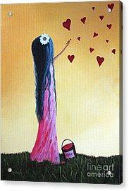 How She Says I Love You By Shawna Erback Acrylic Print by Shawna Erback