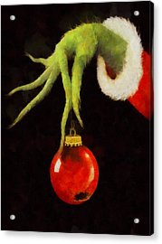 How The Grinch Stole Christmas Acrylic Print by Dan Sproul