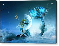 How To Catch A Mermaid Acrylic Print