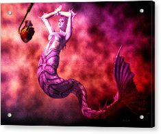 How To Catch Mermaids Acrylic Print by Bob Orsillo