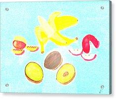 How To Peel Cut And Slice Acrylic Print by Lorna Maza