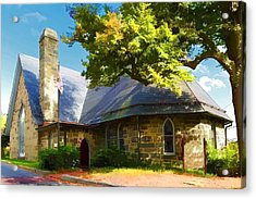 Acrylic Print featuring the photograph Howard County Historical Society Museum by Dana Sohr