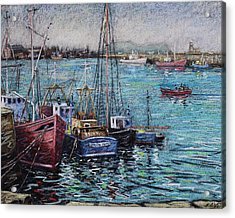 Howth Harbour  Dublin Acrylic Print by John  Nolan