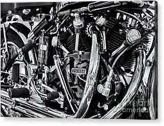 Hrd Vincent Motorcycle Engine Acrylic Print