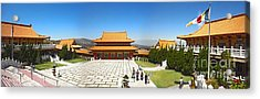 Hsi Lai Temple - 09 Acrylic Print by Gregory Dyer
