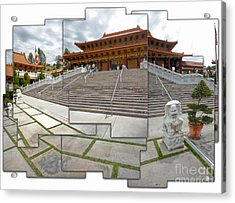 Hsi Lai Temple - 06 Acrylic Print by Gregory Dyer