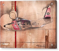 Hu 16 Albatross Acrylic Print
