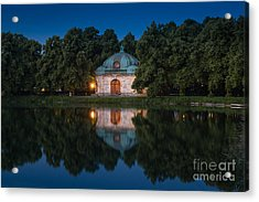 Acrylic Print featuring the photograph Hubertusbrunnen by John Wadleigh