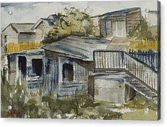 Hudson Alleyway Acrylic Print by Lynne Bolwell