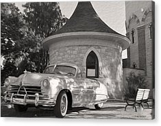 Acrylic Print featuring the photograph Hudson Commodore Convertible by Verana Stark