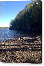Hudson River Shoreline Acrylic Print
