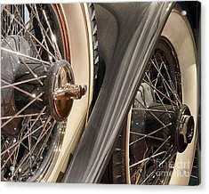 Hudson Spare Tire Acrylic Print by JRP Photography