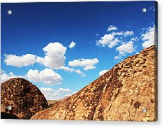 Hueco Tanks Vision Acrylic Print by Chris Bohn