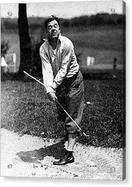 Huey P. Long Play Golf Acrylic Print by Artist Unknown