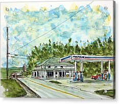 Huff's Market Acrylic Print by Tim Ross