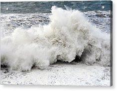 Huge Wave Acrylic Print by Antonio Scarpi