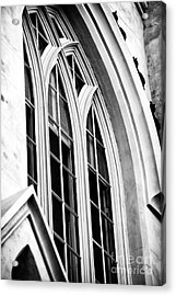 Huguenot Window Acrylic Print by John Rizzuto