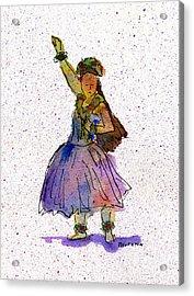 Hula Series Konani Acrylic Print