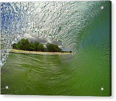 Hulk Wave Acrylic Print by Brad Scott