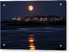 Hull Moonshine Acrylic Print by Joanne Brown