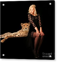Acrylic Print featuring the photograph Human And Animal by Christine Sponchia