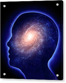 Human Mind Acrylic Print by Andrzej Wojcicki