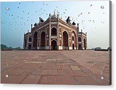Humayuns Tomb Acrylic Print by Ankur Dauneria