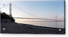 Humber Bridge Panorama Acrylic Print