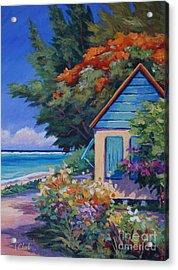 Humble Home Acrylic Print by John Clark