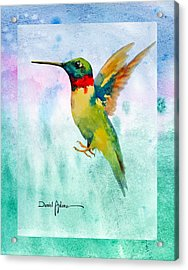 Da202 Hummer Dreams Revisited By Daniel Adams Acrylic Print