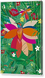 Hummingbird - Limited Edition  Of 10 Acrylic Print
