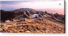Hump Ridge Fiordland National Park New Acrylic Print
