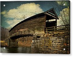 Humpback Bridge IIi Acrylic Print by Kathy Jennings